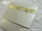Pozivnica za vjenčanje White Romance Classic