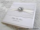 Wedding invitation - Stylish White Lace 2
