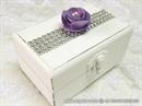 Wedding ring box - Purple Shine
