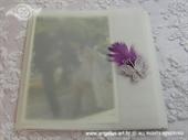 Zahvalnica za vjenčanje Leptir i pero 2