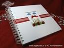 Foto album - Medo White Notebook