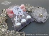 Wedding gifts - Silver Bon Bons