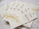 bookmark wedding invitattion