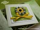 Ekskluzivna čestitka - Suncokret