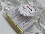 cokoladice s personalizacijom pakirane u organdi vrecicu