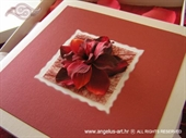 Pozivnica za vjenčanje Pozivnica u kutiji: Crvene latice