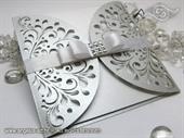 Wedding invitation - Exclusive Silver Diva