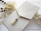 Wedding invitation - Elegant White Classic