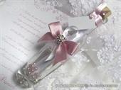 Message in a bottle - Pink Elegance