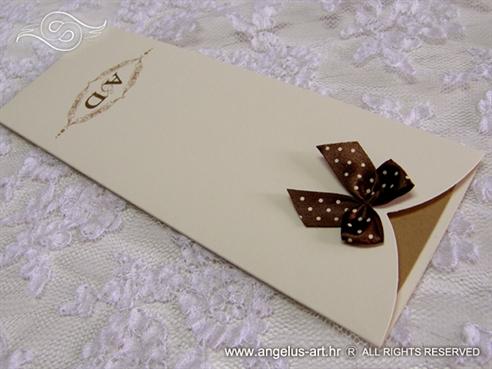 romantic wedding invitation