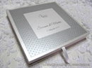 Knjiga gostiju - Silver Dots Guestbook