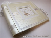 Photo albums - Cream Butterfly