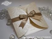Pozivnica za vjenčanje Golden Diva