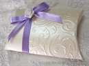 pillow box cream champagne