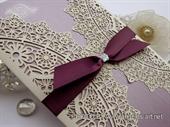 Wedding invitation - Luxury Lilac Divas