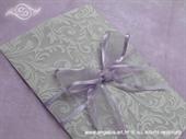Pozivnica za vjenčanje Royal Lilac Love