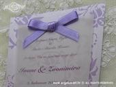 Pozivnica za vjenčanje Lilac Blossom