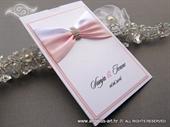 Wedding invitation - Luxury Rose Charm