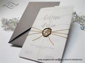 Pozivnice za vjenčanje - Golden Wax Love