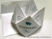 Wedding invitation - Origami Fortune Teller-2