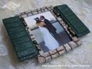 Konfet za vjenčanje Okvir za fotografiju - Škure