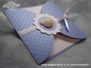 Ekskluzivna čestitka - Plave toćke i medo