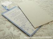 Pozivnica za vjenčanje Blue Charm