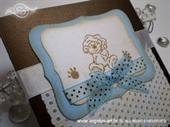 Ekskluzivna čestitka - Baby Brown Bear