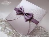Wedding invitation - Lilac Frame Beauty