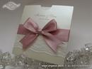Wedding invitation - Pink Lace Charm