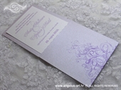 Wedding invitation - Destiny Lavander
