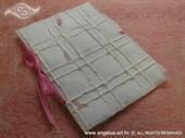 Pozivnica za krštenje - Natural Pink