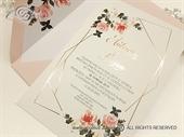 Pozivnica za vjenčanje - Roses & Lines Invitation