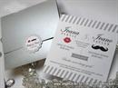 Wedding invitation - Classic Mustache