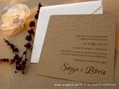 Wedding invitation - Vintage Birds-2