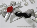 Kitica za rever za vjenčanje - Plexy Mustache