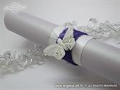 Pozivnica za vjenčanje History White Butterfly