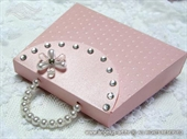 Exclusive greeting card - Pink Purse