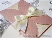 Rose Cream Divas Pozivnica za vjenčanje