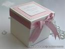 Wedding cake box - Pink Dots