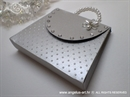Exclusive greeting card - Silver Purse