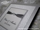 Pozivnica za vjenčanje Per Sempre Silver Light