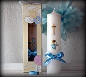 Dekorativne svijeće za krštenje