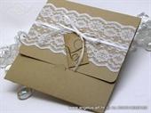Wedding invitation - Vintage Lace Glorius 2