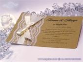 Wedding invitation -  Vintage Lace Harmon