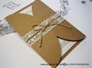 Natur Lace Divas Pozivnica za vjenčanje