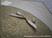 Pozivnica za vjenčanje Diamond Royal Gold